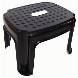 YBM Home Black Plastic Step Stool