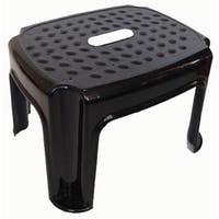 Shop Extra Wide 9 Quot Folding Step Stool Striped Top 16 Quot Wide