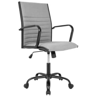 LumiSource Master Contemporary Fabric Office Chair