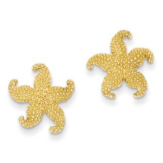 14k Starfish Post Earrings by Versil