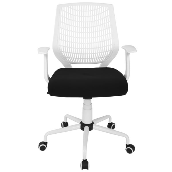 lumisource network height adjustable swivel office chair