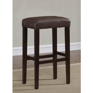 Mission Style 29 Inch Oak Barstools Set Of 2 Free