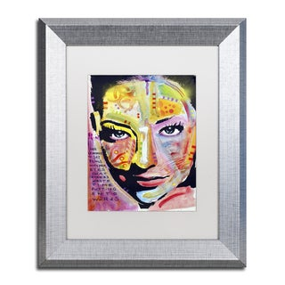 Dean Russo 'She Learned To Say' Matted Framed Art