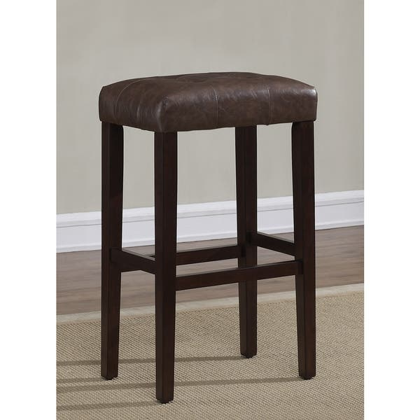 Admirable Shop Terrell 26 Inch Espresso Backless Counter Stool By Beatyapartments Chair Design Images Beatyapartmentscom