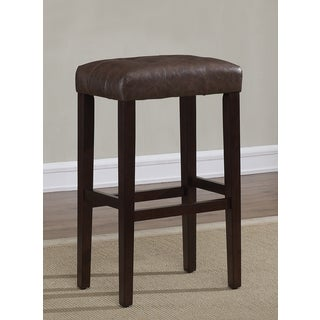 Greyson Living Terrell Espresso Backless Counter Stool