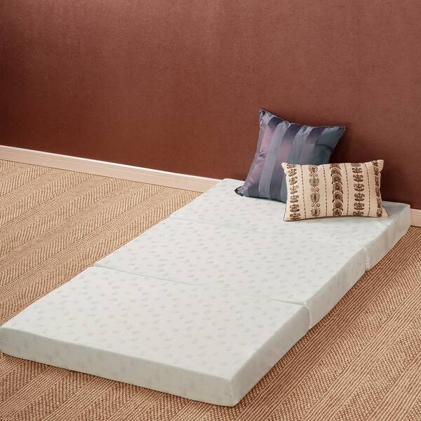 Tri Fold Comfort Memory Foam Mat