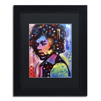 Dean Russo 'Jimi Hendrix IV' Matted Framed Art