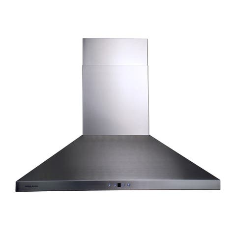 "30"" Convertible Wall-Mount, Stainless Steel, Chimney-style Range Hood"