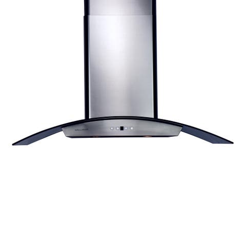 Stainless Steel 36-inch 860 CFM Chimney-style Range Hood