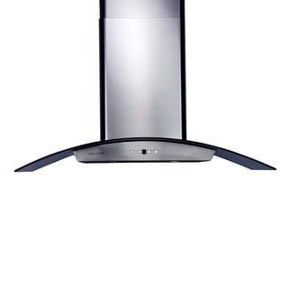 Stainless Steel 36-inch 860 CFM Chimney-style Range Hood