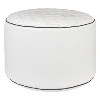 Sitting Point Dotcom Modo Tap Faux Leather Pouf Ottoman Bean Bag