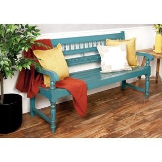 Blue Mahogany Bench
