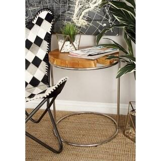 Wood Teak Nestng Table (Set of 3)