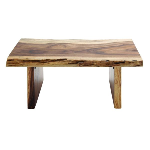 raha style teak wood coffee table 40 inches wide x 16