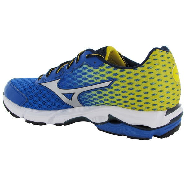 release date 72575 c5b5c Shop Mizuno Mens Wave Rider 18 Running Sneaker Shoes - On ...