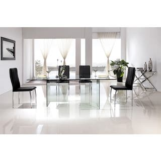 Glass, Rectangle Kitchen & Dining Room Tables For Less | Overstock.com