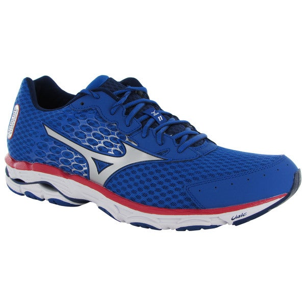 mizuno mens running shoes size 9 youth gold toe wear