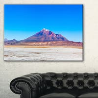 Altiplano near Uyuni Panorama - Modern Seascape Canvas Artwork