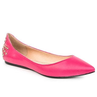 Sole9 Warrior Collection - Leather Point-Toe Flats