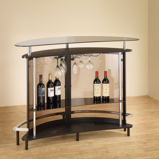 Clay Alder Home Lincoln Hwy Glass Bar Table