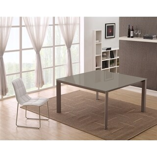 Casabianca Home NAPLES Collection Taupe Glass Dining Table|https://ak1.ostkcdn.com/images/products/12219093/P19064530.jpg?_ostk_perf_=percv&impolicy=medium