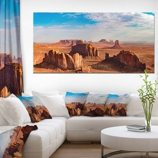 Monument Valley Aerial Sky View - Landscape Print Wall Artwork