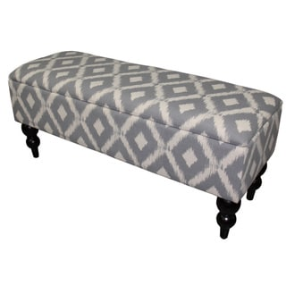 17.75-inch-high Safari Print Storage Bench