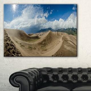 Massive Sand Dunes Panorama - Landscape Print Wall Artwork