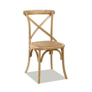 Artefama Paris 'X' Back Side Chairs (Set of 2)