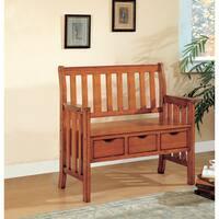 Coaster Company Wood 3-drawer Storage Bench