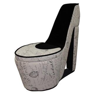 Ore Old World High Heel Shoe Storage Chair