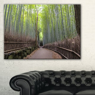 Arashiyama Bamboo Path Japan - Forest Canvas Wall Art Print