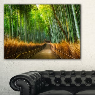 Arashiyama Bamboo Grove Japan - Oversized Forest Canvas Artwork