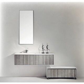 Eviva Ashy Ash Grey 48-inch Wall Mount Single Bathroom Vanity Set