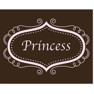 Princess Scroll 8-inch x 10-inch Art Print