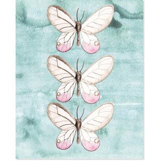 Secretly Designed Tres Butterfly Art Print