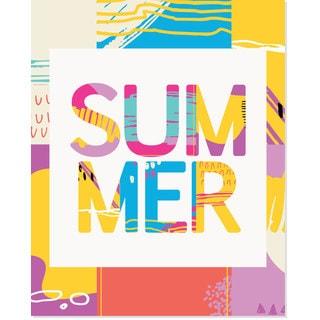 'Summer' Mix Art Print
