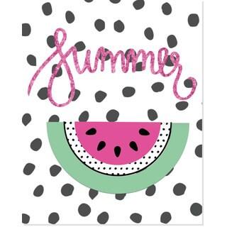 'Summer' Watermelon Art Print