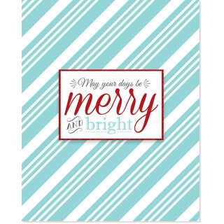 'Merry and Bright' Art Print