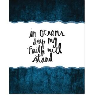 Secretly Designed Deep Ocean Art Print (8 x10)