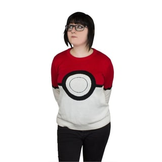 Women's Pokemon Pokeball Knitted Sweater