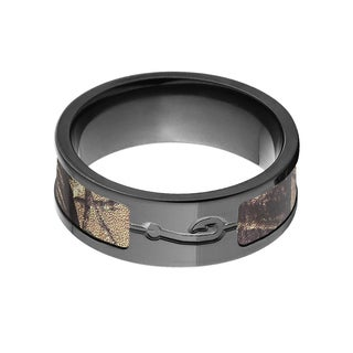 RealTree Black Zirconium Camouflage Ring