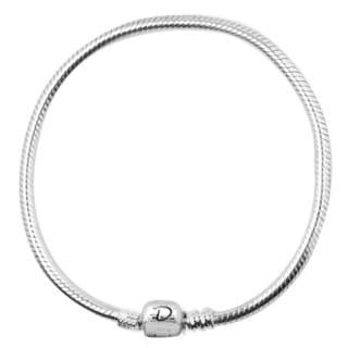De Buman Sterling Silver Charm Bracelet
