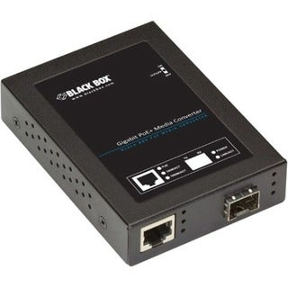 Black Box Gigabit PoE+ PSE Media Converter
