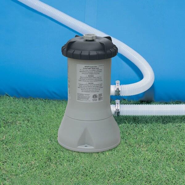 Intex Swimming Pool and Spa Cartridge Filter Pump