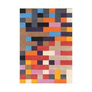 Alliyah Rugs Multicolored Wool 8-feet Wide x 10-feet Long Rug