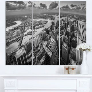 Sydney City Skyscrapers Panorama - Cityscape Canvas print