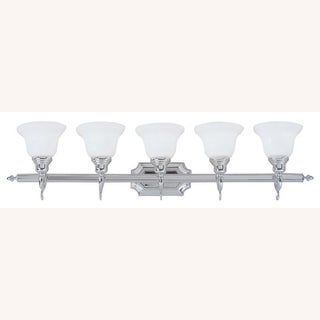 Livex Lighting North Port 1-light Brushed Nickel Steel Ceiling Mount