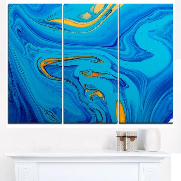 Shop Light Blue Abstract Acrylic Paint Mix