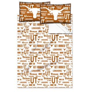 COL 821 Texas 'Anthem' Full-size Sheet Set